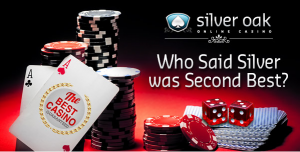 300% Deposit Match Bonus Silver Oak Casino