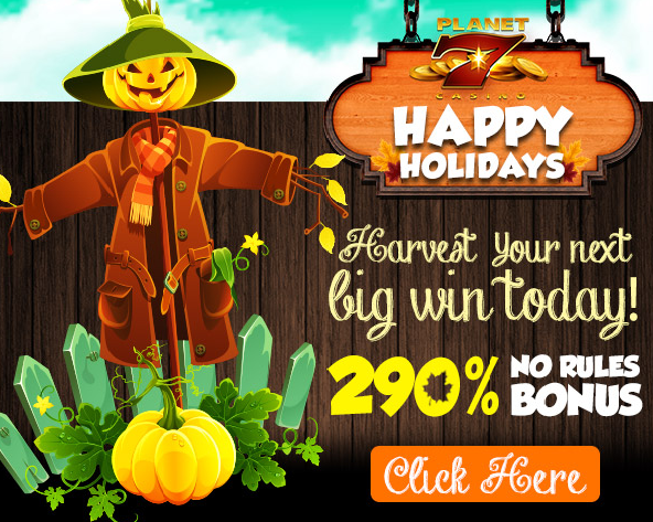 Planet 7 Casino Thanksgiving Deposit Bonus