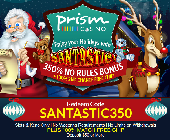 Prism Casino Holiday Bonuses