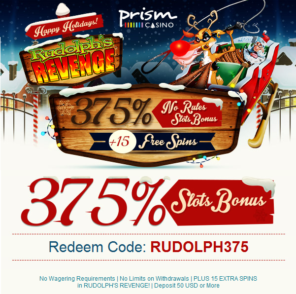 Prism Casino No Rules Bonus Free Spins December