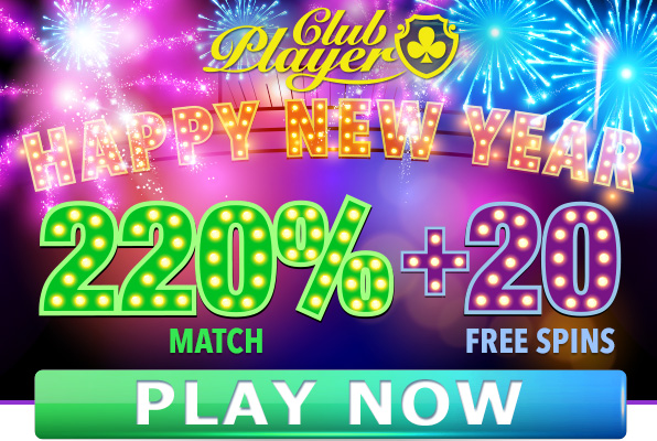 Free New Year 2016 Bonuses Club Player Casino
