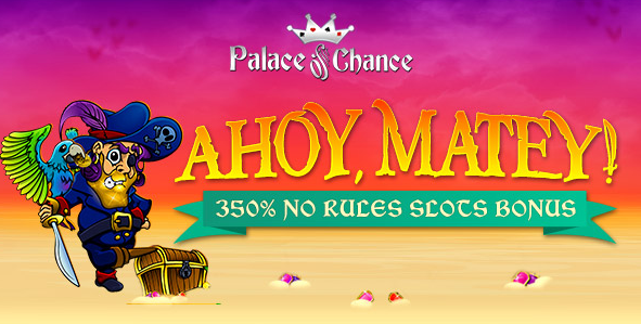 Palace of Chance Casino Goldbeard Slot No Rules Bonus