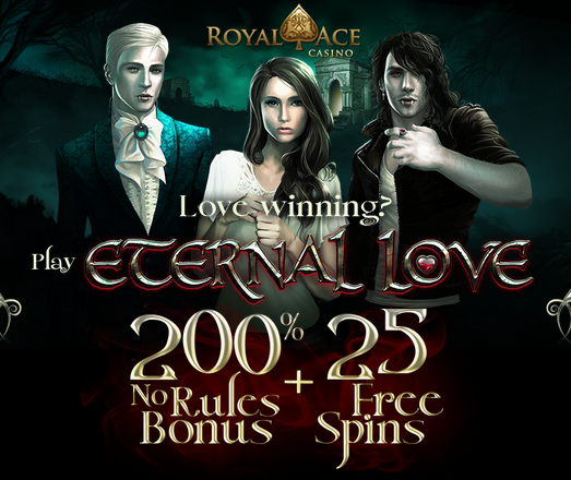 Royal Ace Casino Eternal Love Slot Bonuses