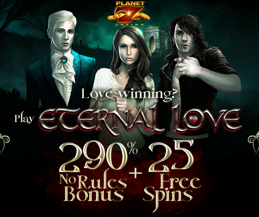 Planet 7 Casino Eternal Love Slot Bonus Code