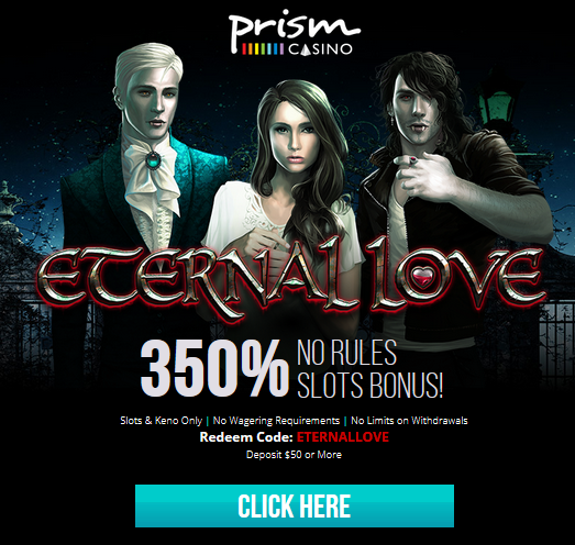 Prism Casino Eternal Love Slot Bonus