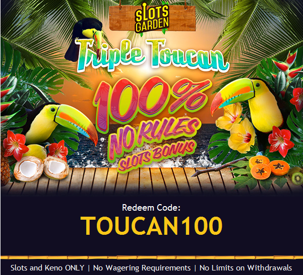 Casino Royale Mty, Triple Toucan Slot, Golden Iris