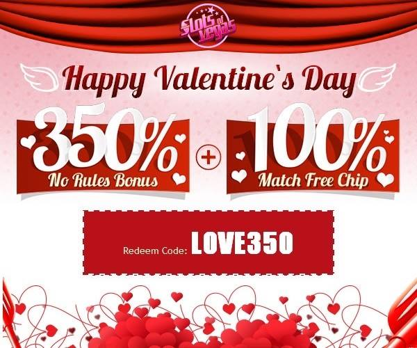 Slots of Vegas Casino Valentines Day Bonuses
