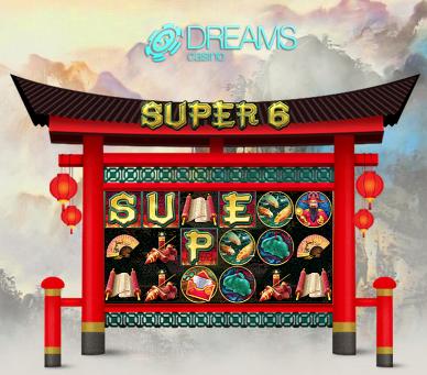 Dreams Casino Super 6 Slot Bonuses